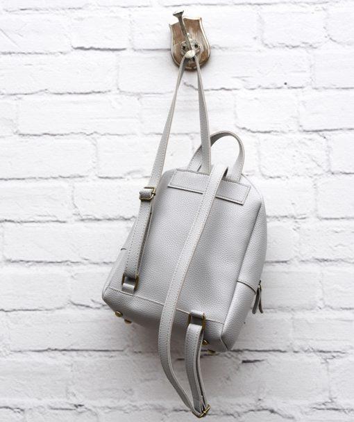 Τσάντα Πλάτης Γκρι 002293a (2)