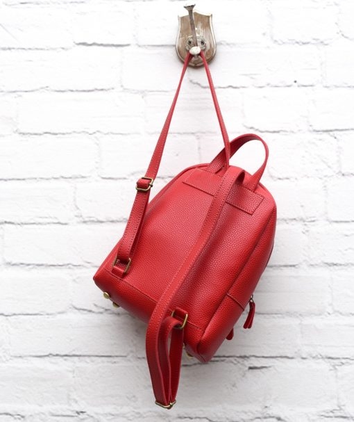 Τσάντα Πλάτης Κόκκινο 002295a (4)