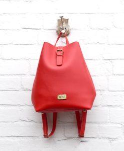 Τσάντα Πλάτης Κόκκινο 002304a (2)