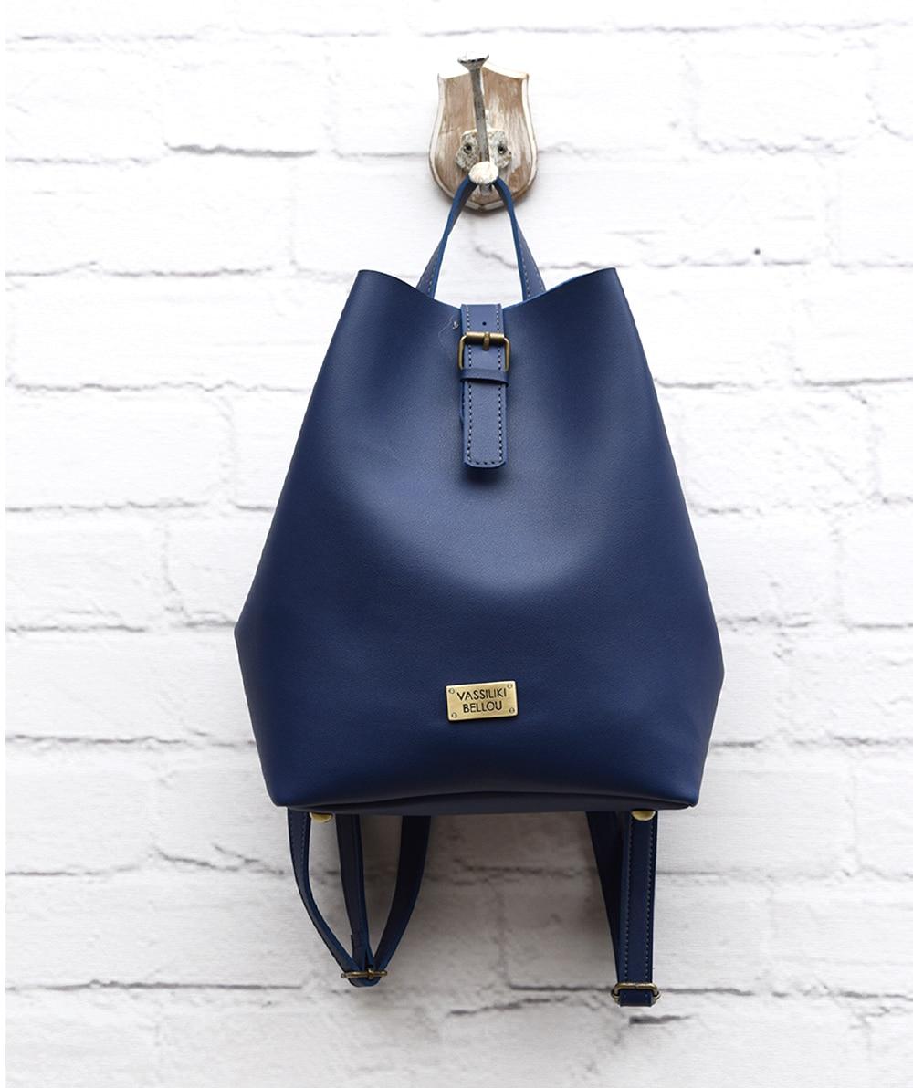 dc280e9315 Τσάντα Πλάτης - Μπλε - ARTonomous    Style    Design