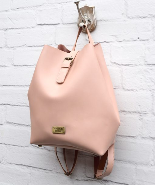 Τσάντα Πλάτης Ροζ 002302a (3)