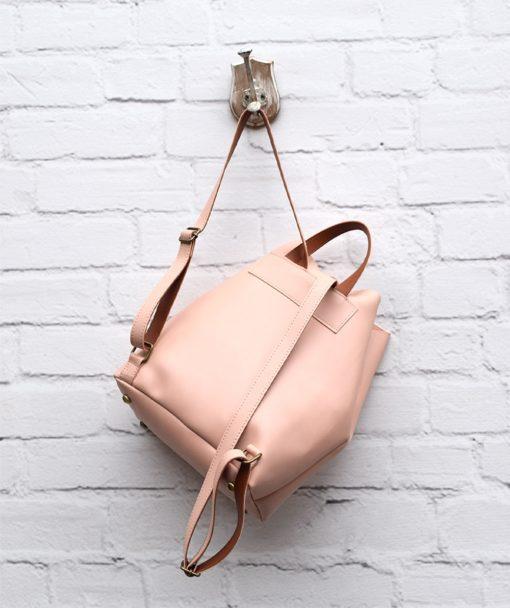 Τσάντα Πλάτης Ροζ 002302a (4)