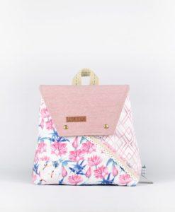 Τσάντα Πλάτης Ροζ 002334a Bb 03 03