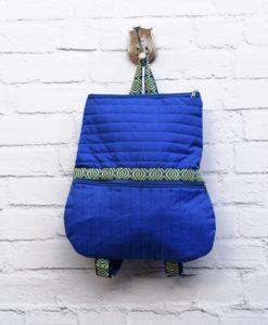 Χειροποίητο σακίδιο πλάτης Μπλε 002343a