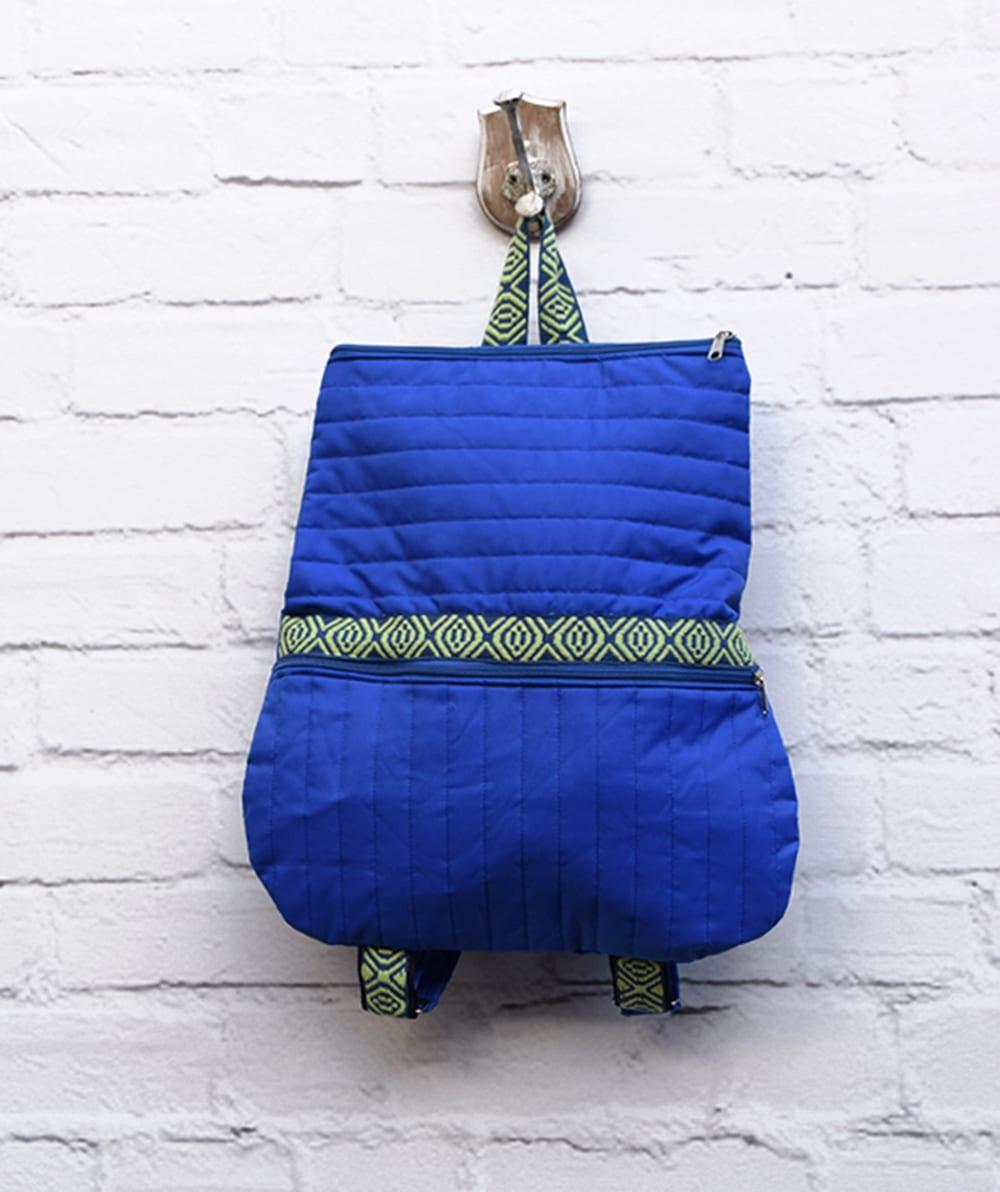 Χειροποίητο σακίδιο πλάτης - Μπλε - ARTonomous    Style    Design ea2000e0a97