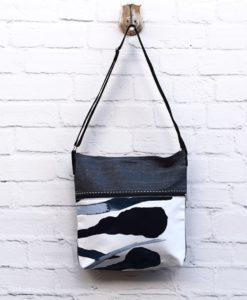 Χιαστί τσάντα από τζιν ύφασμα 002340a