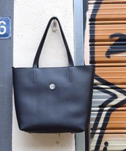 Τσάντα tote - Μαύρη