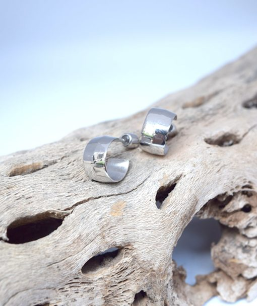 Ασημένια σκουλαρίκια κρικάκια 002404a (2)