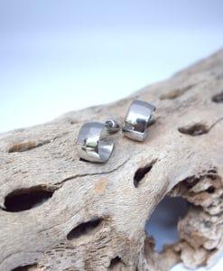 Ασημένια σκουλαρίκια κρικάκια 002404a