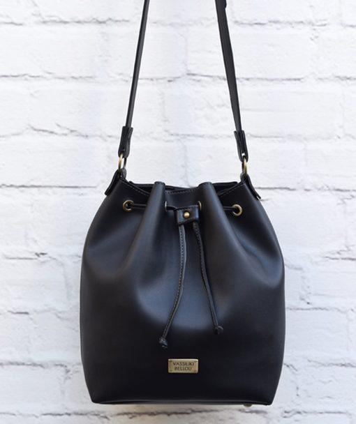 Χιαστί τσάντα Μαύρο 002369a (2)