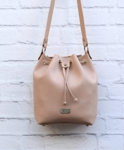 Χιαστί τσάντα Nude 002368a (2)