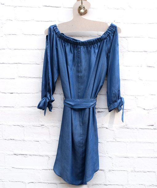 Φόρεμα μίνι τζιν 002451c (1)