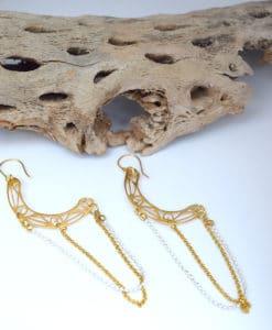 Μακριά έθνικ σκουλαρίκια 002430a