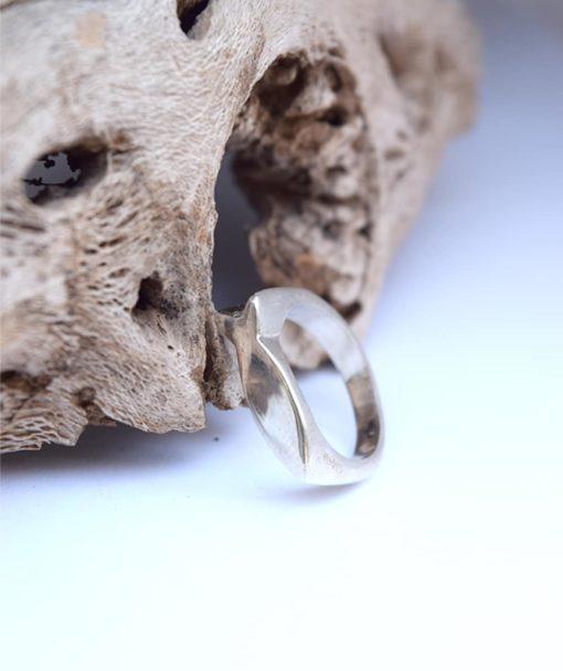 Δαχτυλίδι ψαράκι ασημί 002485a (3)