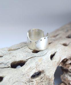 Δαχτυλίδι σε γεωμετρικό στυλ ασήμι 002487a