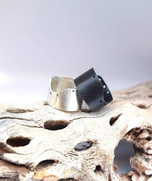 Δαχτυλίδι σε γεωμετρικό στυλ ασήμι 002487a (3)