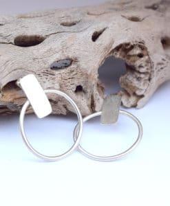 Επάργυρα σκουλαρίκια 002505a