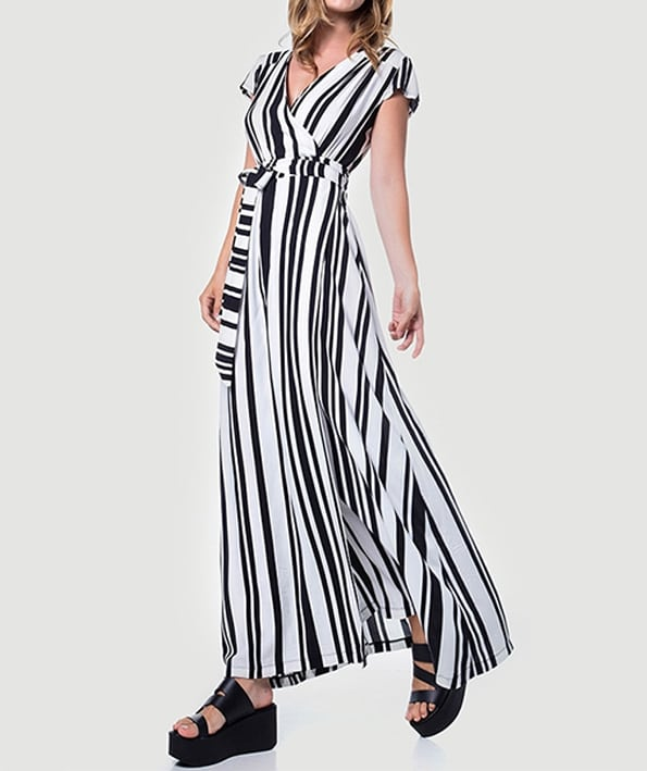 Maxi φόρεμα δετό ριγέ - ARTonomous    Style    Design e0dd00dc24c
