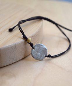 Silver Circle Bracelet Tsaprali Artonomous 3
