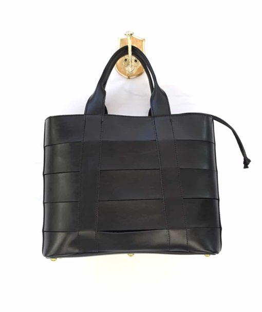 Τσάντα Shopper Μαύρο 002473a (3)