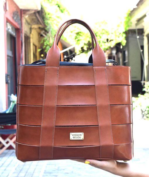 Τσάντα Shopper Ταμπά 002474a (3)