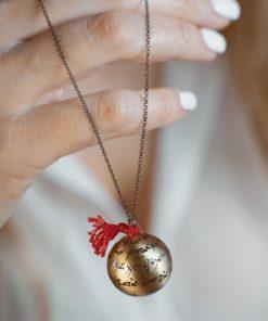 Brass Necklace Meitani Artonomous1