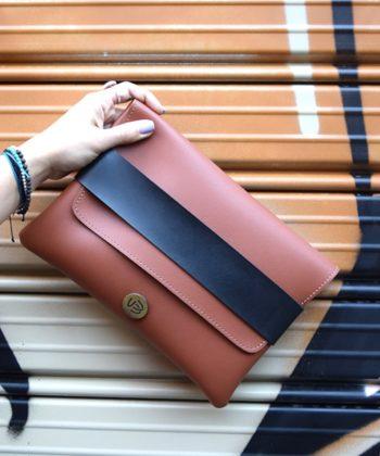 Τσάντα χειρός φάκελος - Ταμπά Μαύρο