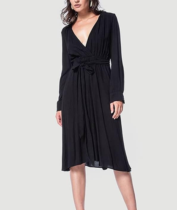 Φόρεμα Κρουαζέ Μαύρο - ARTonomous    Style    Design 6d642effce8