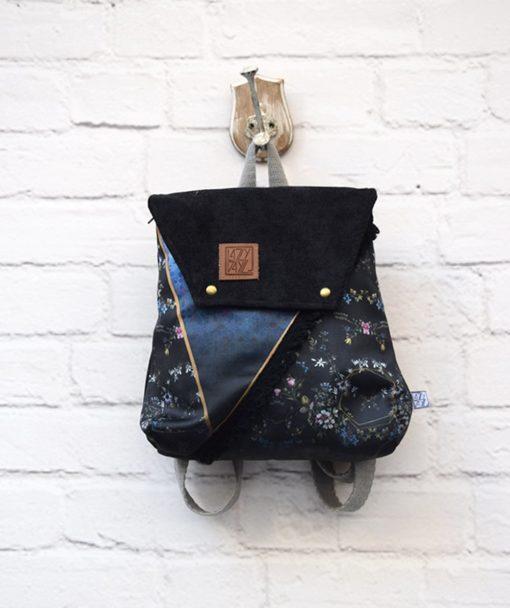 Backpack Black Bag Lazydayz Artonomous 1