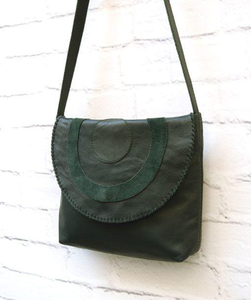 δερμάτινη γυναικεία τσάντα Artonomous 3