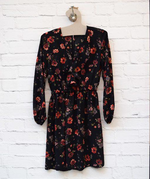 Φόρεμα εμπριμέ λουμούδια Artonomous 1