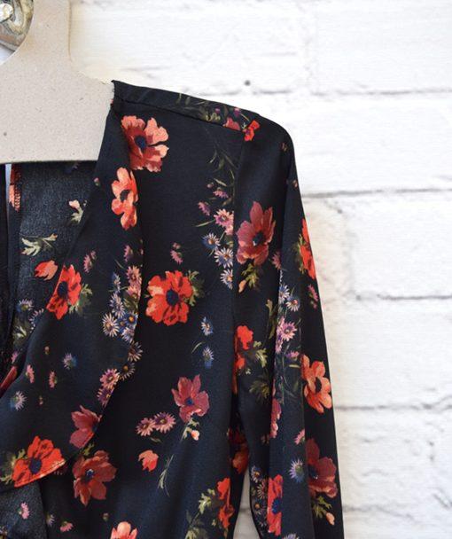 Φόρεμα εμπριμέ λουμούδια Artonomous 2
