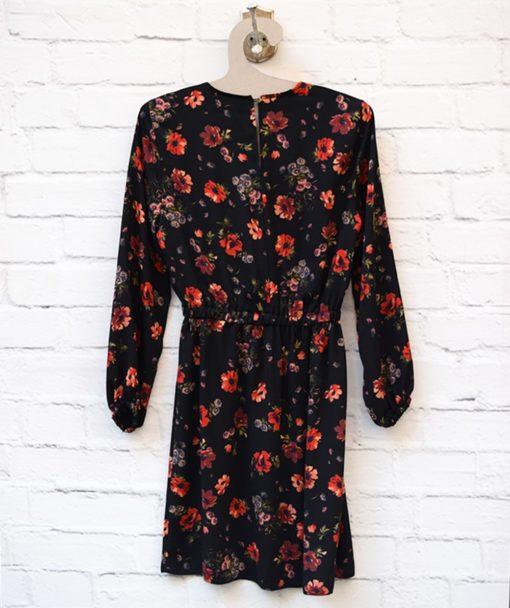 Φόρεμα εμπριμέ λουμούδια Artonomous 3