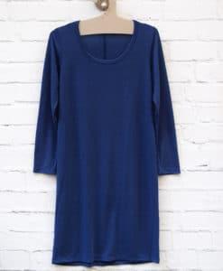 Φόρεμα Midi Μπλε 0025586a (1)