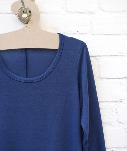 Φόρεμα Midi Μπλε 0025586a (2)