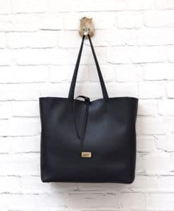 γυναικεία τσάντα μαύρη Βασιλική Μπέλλου Artonomous 1