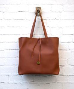 Large Shopper Bag Tabac Vasiliki Bellou Artonomous 2