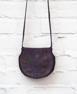 μοβ χιαστί τσάντα Artonomous 1