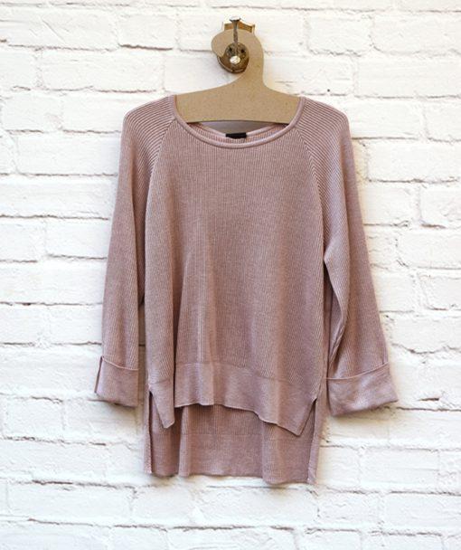 πλεκτή μπλούζα ροζ Artonomous 1