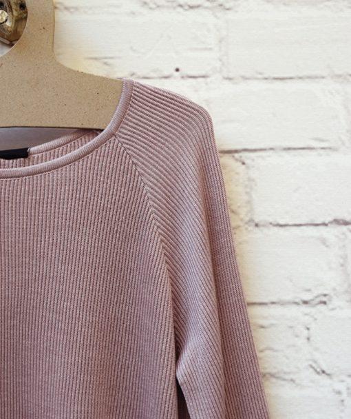πλεκτή μπλούζα ροζ Artonomous 2