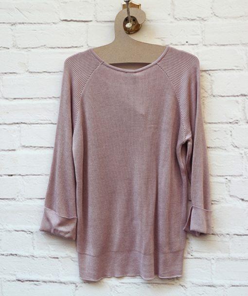 πλεκτή μπλούζα ροζ Artonomous 3
