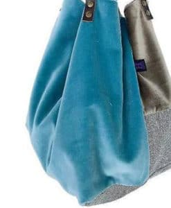 Shopper Bag Blue The Hood Artonomous 1