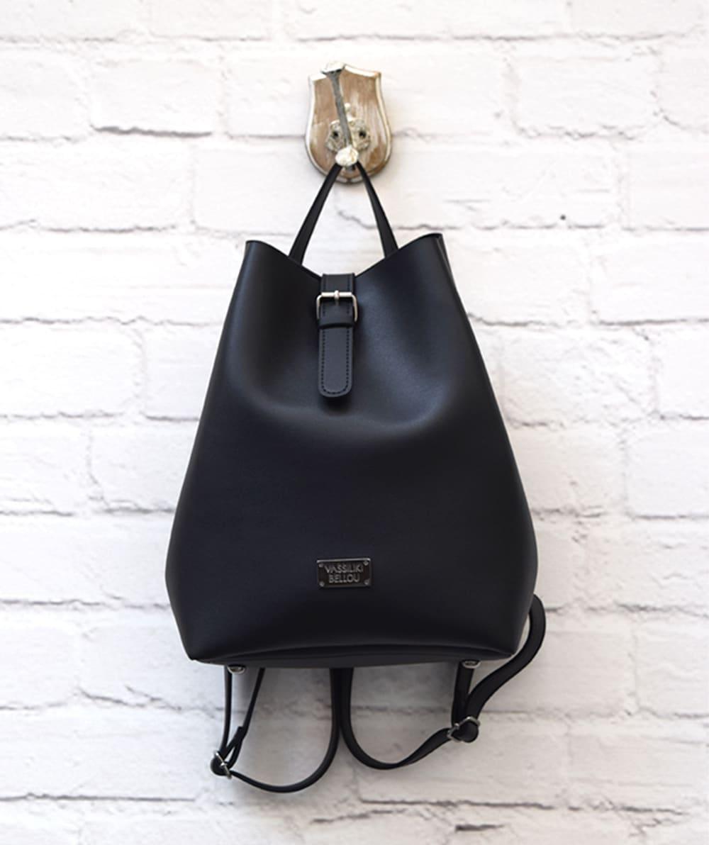 Τσάντα Πλάτης - Μαύρο - ARTonomous    Style    Design bbf3507be11