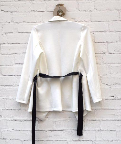 Ζακέτα Σακάκι Λευκό 0025578a (3)