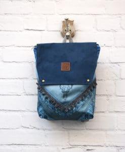 Backpack Blue Lazydayz Artonomous 1