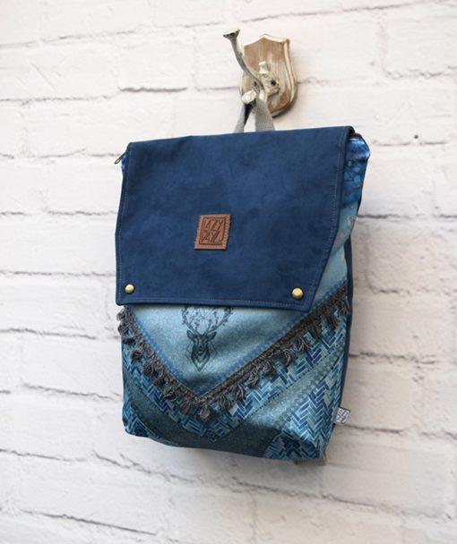 Backpack Blue Lazydayz Artonomous 2