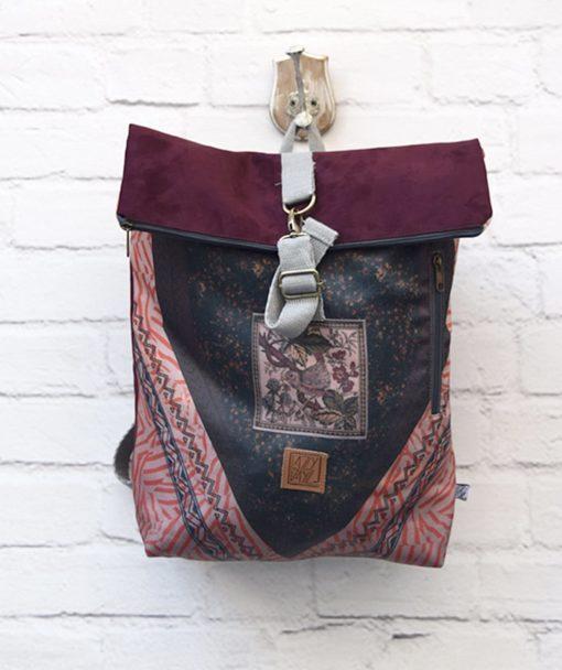 Backpack Lazydayz Bordo Artonomous 1