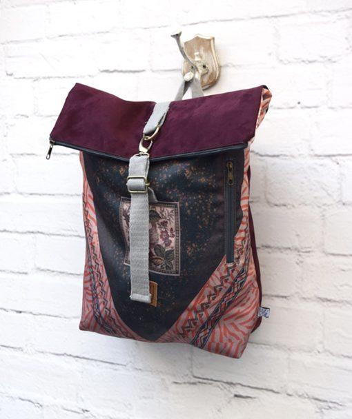 Backpack Lazydayz Bordo Artonomous 2