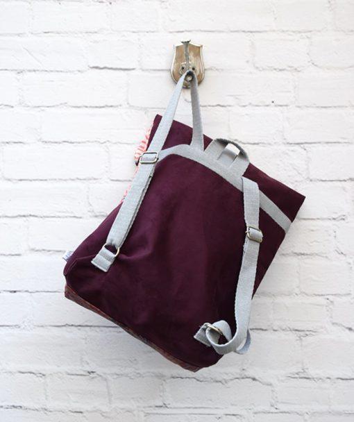Backpack Lazydayz Bordo Artonomous 3