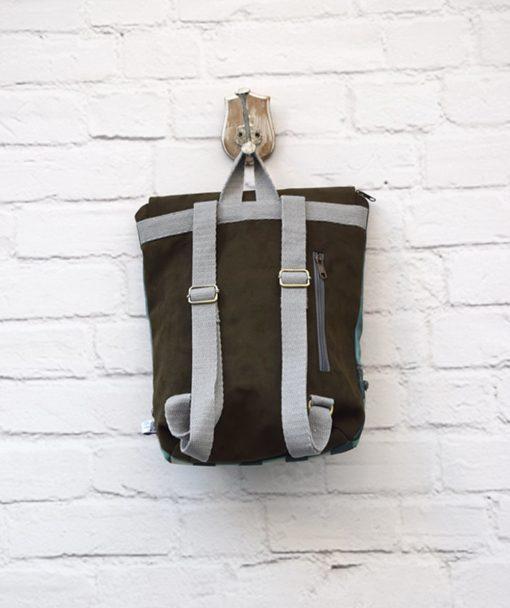Backpack Olive Green Lazydayz Artonomous 3